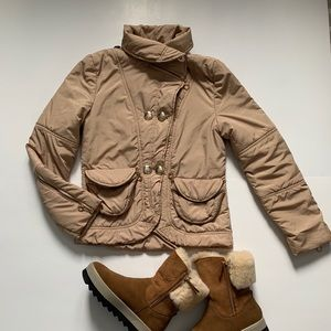 See By Chloe short winter jacket size 4 US